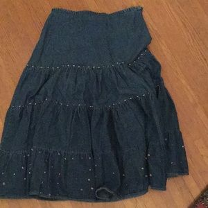 New Directions peasant full skirt Small